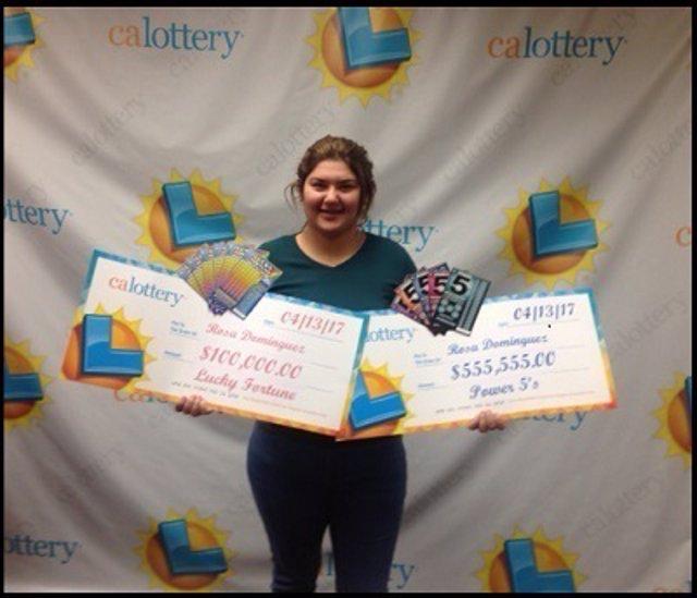Una joven de 19 años gana la lotería dos veces en una semana