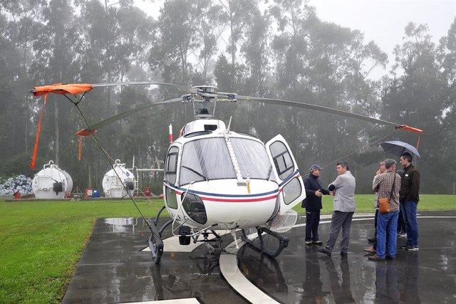 Nuevos helicópteros contraincendios