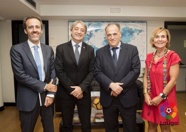 LaLiga y el Consejo Iberoamericano del Deporte