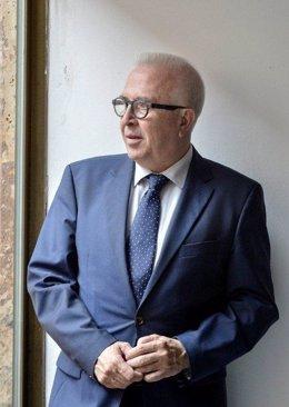 El consejero de Empleo, Empresa y Comercio, José Sánchez Maldonado