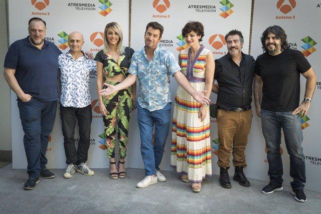 Arturo Valls presenta 'Me Resbala'