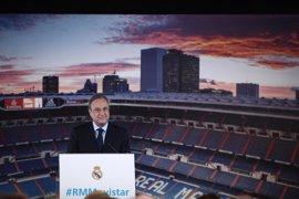"""Florentino Pérez: """"Es un gran día para Theo, entra a formar parte del club de las 12 Copas de Europa"""""""