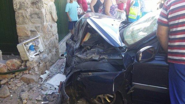 Accidente de tráfico en Las Rozas de Puerto Real
