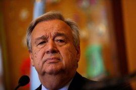 """Guterres dice que el acuerdo de alto el fuego en el suroeste de Siria es """"un importante paso adelante"""""""