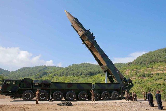 Misil balístico intercontinental de Corea del Norte