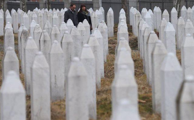 Centro memorial de Potocari, cerca de Srebrenica
