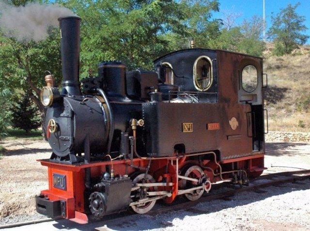 Locomotora Huya, de 1903.