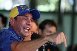Capriles descarta una lucha por el liderazgo opositor en Venezuela tras la excarcelación de López