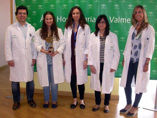 Equipo de investigadores del Hospital de Valme