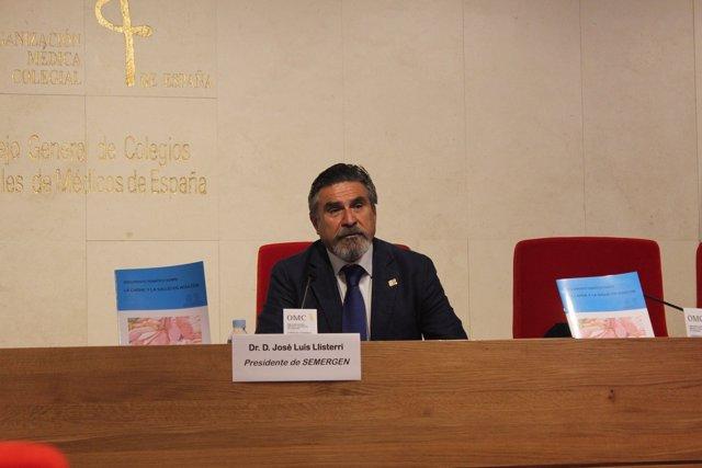 Presidente de SEMERGEN en la presentación del documento