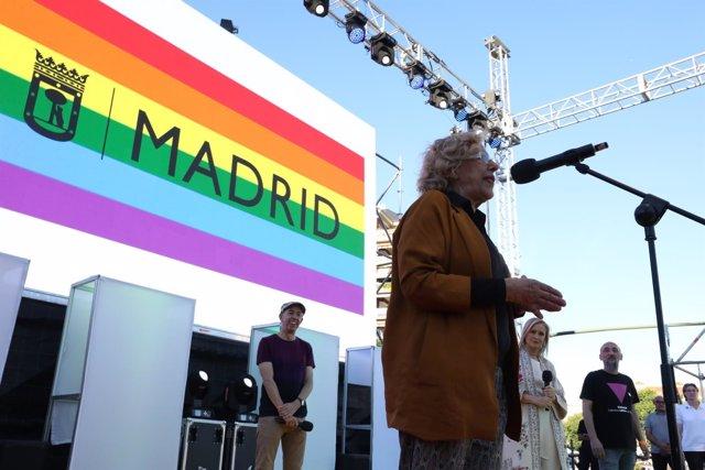 Manuela Carmena en el WorldPride