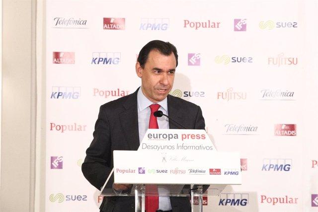 Desayuno Informativo con Fernando Martínez Maíllo, coordinador general del PP