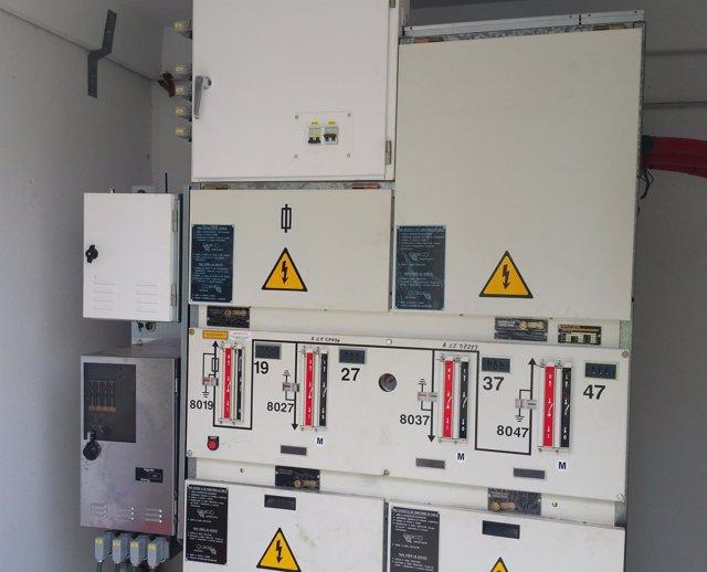 Sistema de control remoto instalado en el transformador de Miami Platja
