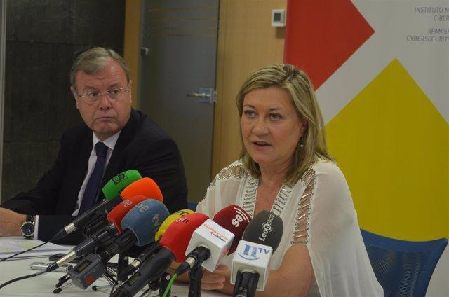 Pilar Del Olmo Ha Negado Que Exista Conflicto Con La Empresa Vidriera Leonesa