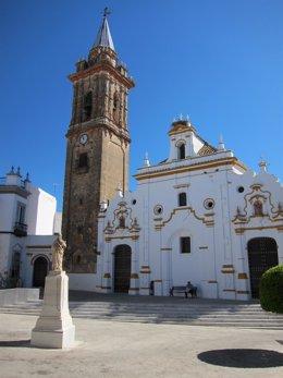 Iglesia de Santiago Apóstol en Bollullos Par del Condado.