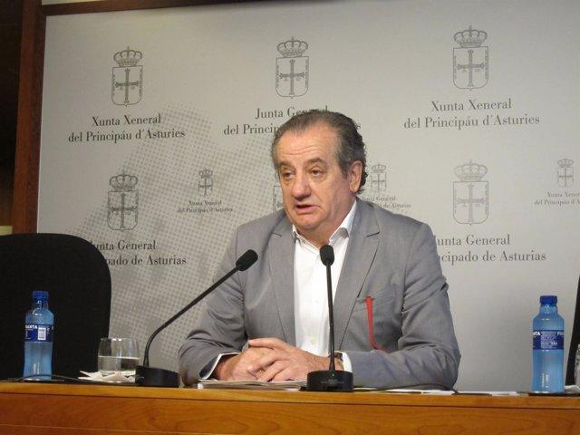 El Portavoz De Ciudadanos En La Junta General Del Principado, Nicanor García.