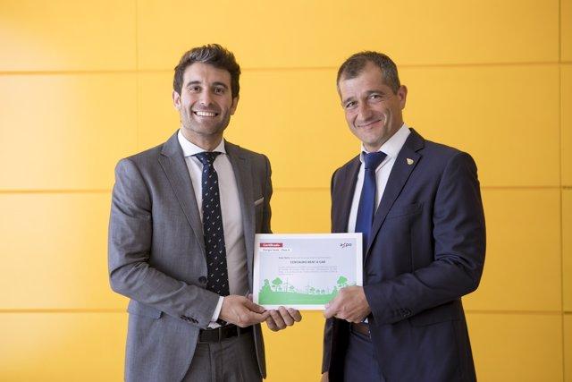 Centauro Rent a Car obtiene el Certificado de Energía Verde