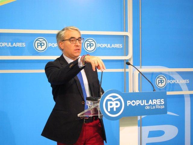 Portavoz PP en el Parlamento, Jesús Ángel Garrido