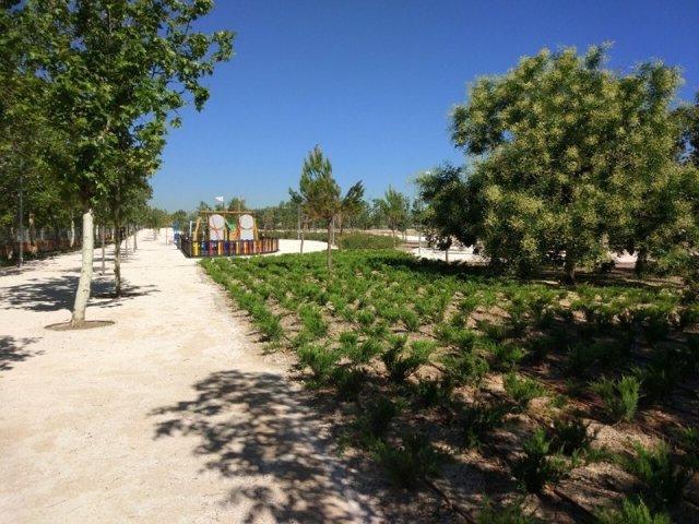 Reforma de parte del Parque de Fuente Carrantona