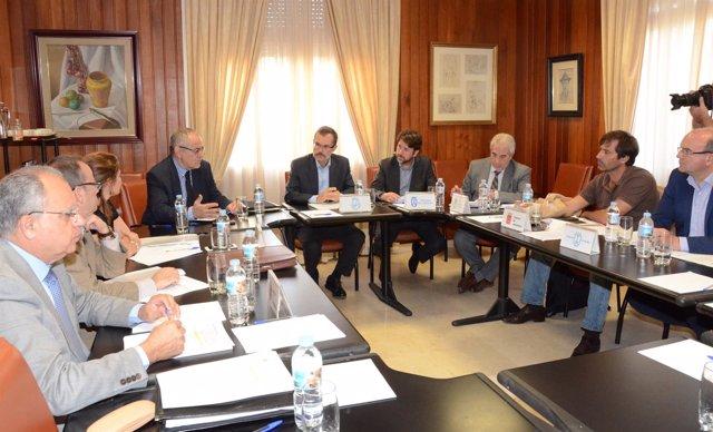 Reunión de la Fecai en el Cabildo de Tenerife