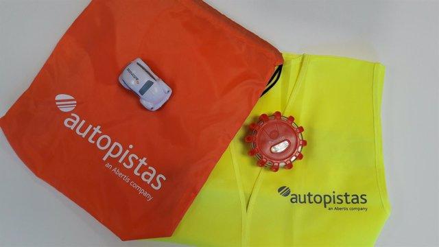 Kit de seguridad vial de Autopistas (Abertis)