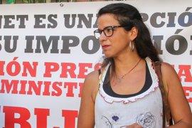 """Teresa Rodríguez acusa al PP de usar a las víctimas del terrorismo """"como martillo de herejes"""""""