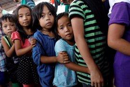UNICEF denuncia la precaria situación de los niños atrapados por los combates en Marawi