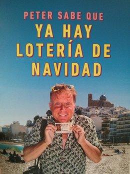 Cartel de la campaña de verano de la Lotería de Navidad