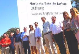 """Moreno (PP-A) reclama la variante de Arriate y lamenta los """"graves problemas"""" de conexiones en la comarca de Ronda"""