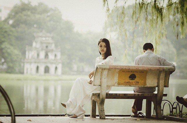 Triteza, tristes, pareja