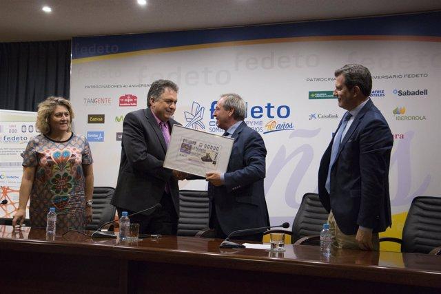 Rtdo. Nota De Prensa Y Fotografías De La Presentación Del Cupón De La Once De El