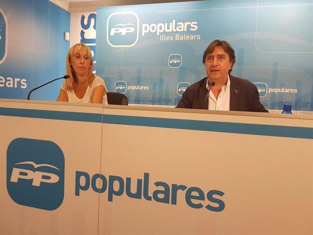 Mauricio Rovira y Catalina Soler