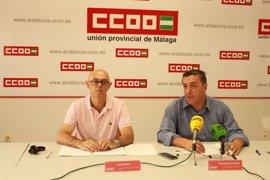 El 70% de las demandas por accidente laboral en Málaga prescriben o son retiradas, según CCOO