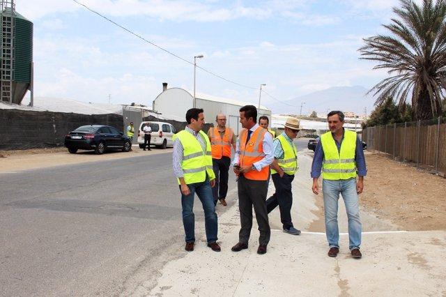 Las obras en El Ejido van a permitir la mejora de varias calles del municipio.