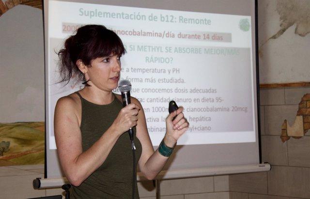 La dietista Lucía Martínez