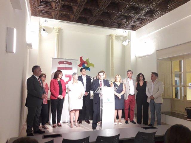El presidente de la Diputación de Granada hace balance de gestión
