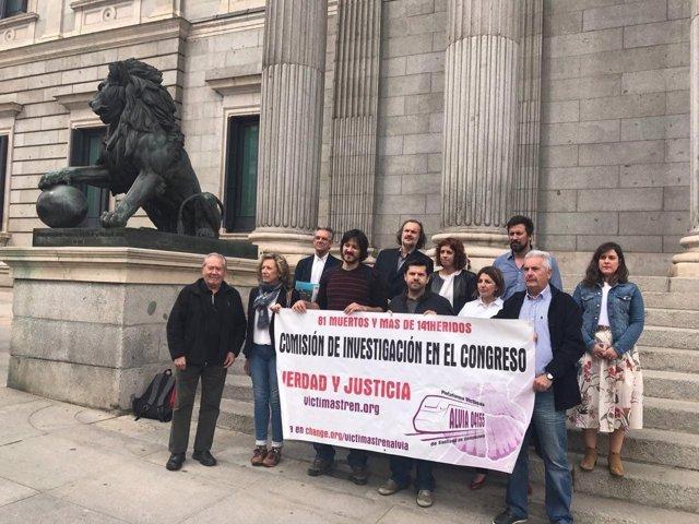 En Marea pide una comisión sobre el accidente de Angrois