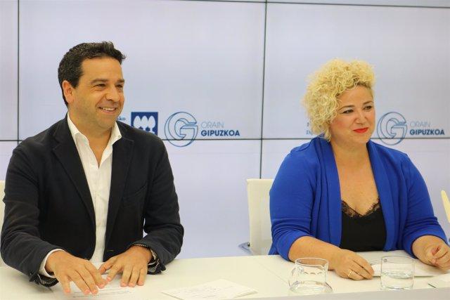 Imanol Lasa y Maite Peña
