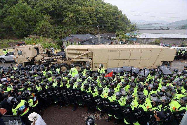 Sistema de defensa antimisiles THAAD