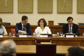 "Santamaría acusa al independentismo de presionar a alcaldes y funcionarios por ""miedo"" a asumir responsabilidades"