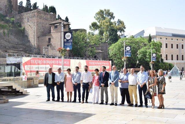 Nuevo grupo socialista Ayto Málaga 2017 perez portavoz