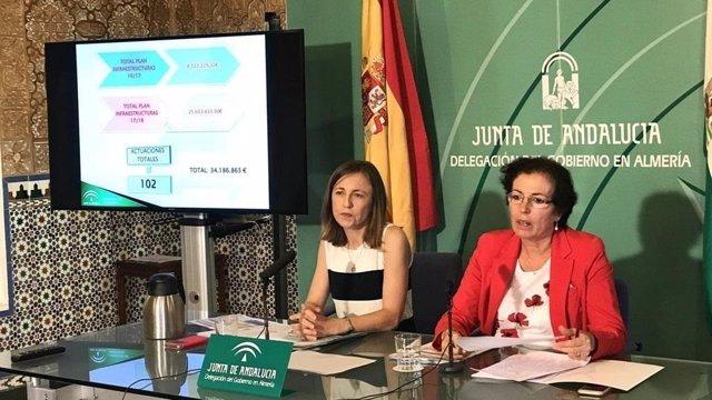 Fernández presenta las actuaciones en materia educativa para el próximo curso