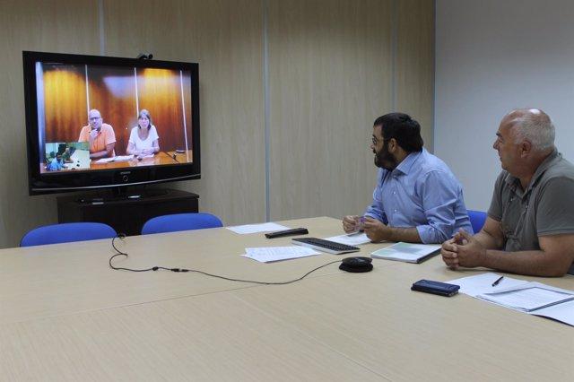 Videoconferencia medio ambiente