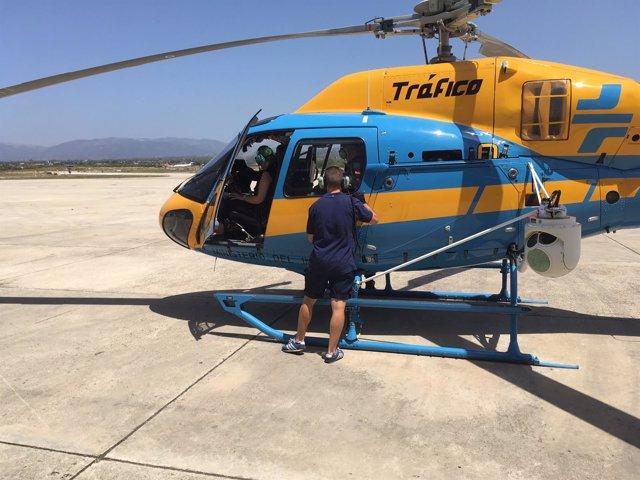 Helicóptero de la DGT destinado a Baleares este verano