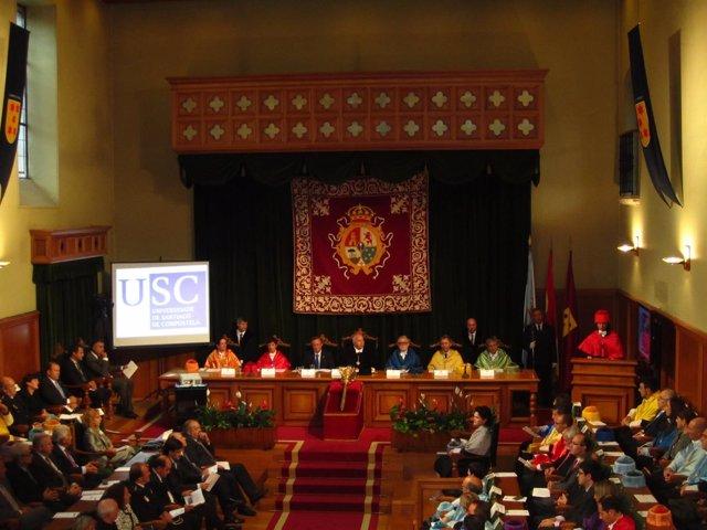 Acto Inaugural Del Curso Universitario 2011-2012 De La USC