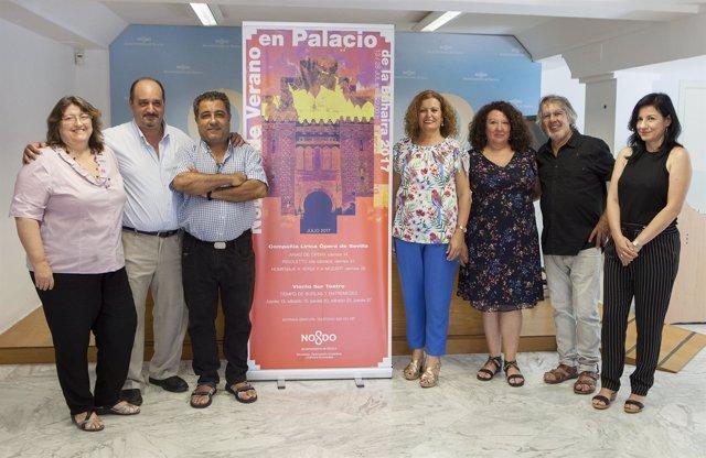 Presentación de Las Noches En El Palacio De La Buhaira