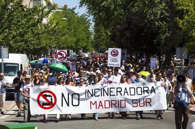 Incineradora Madrid Sur
