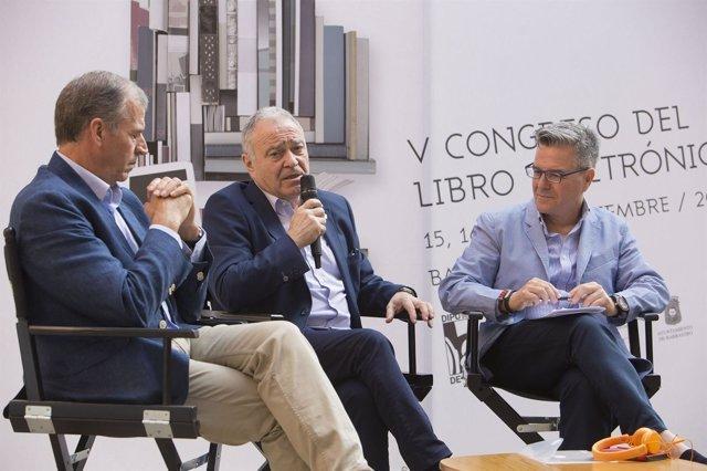 Cosculluela, Gracia y Celaya han presentado el congreso dedicado al e-book