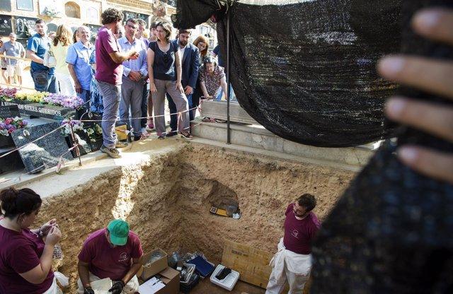 La Diputación amplía su inversión en la exhumación de fosas comunes
