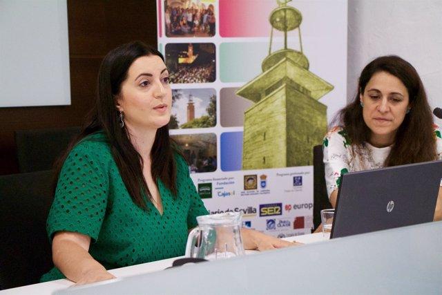 La traductora audiovisual Eugenia Arrés, en los cursos de verano 2017 de la UPO